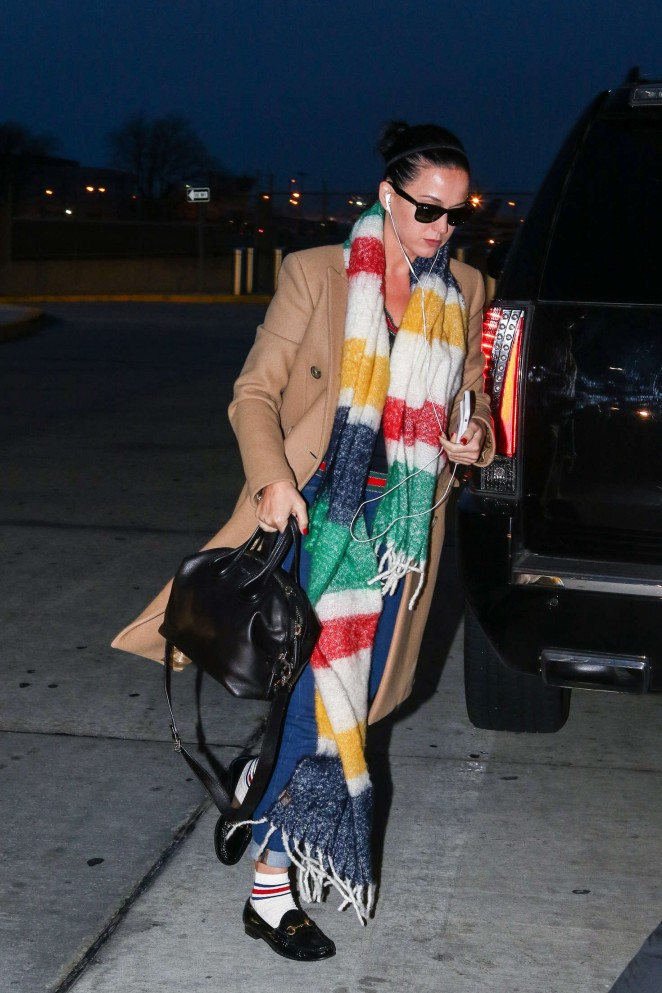 Katy Perry out in New York -04