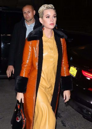 Katy Perry - Outside the 'To Kill a Mockingbird' on Broadway show in NYC