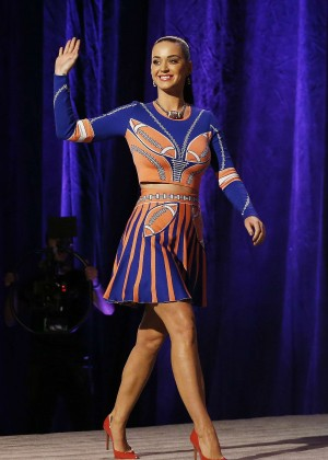 Katy Perry - Pepsi Super Bowl XLIX Halftime Show Press Conference in Phoenix