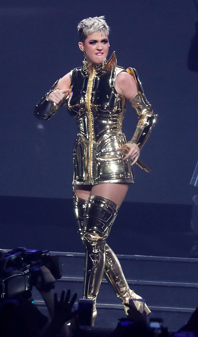 Katy Perry: Performs at Witness: The Tour at T-Mobile Arena -01