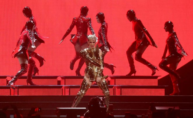 Katy Perry: Performs at Witness: The Tour at T-Mobile Arena -02