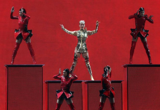 Katy Perry: Performs at Witness: The Tour at T-Mobile Arena -03