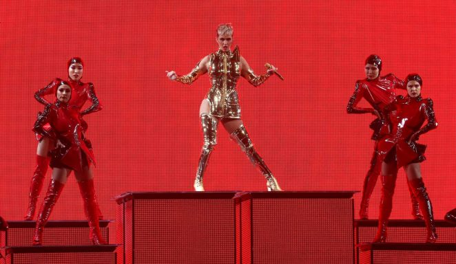 Katy Perry: Performs at Witness: The Tour at T-Mobile Arena -08