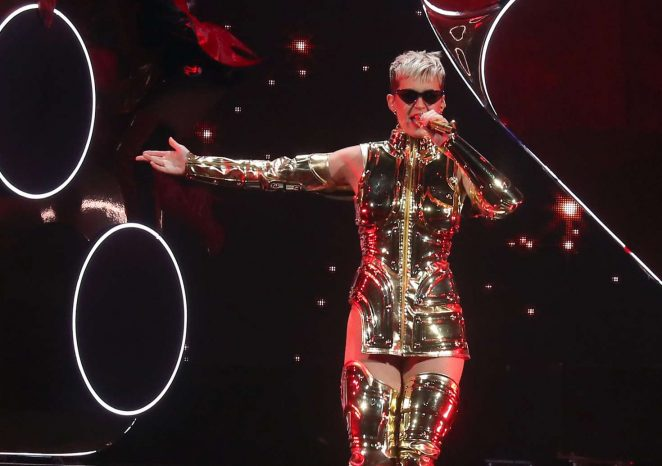 Katy Perry: Performs at Witness: The Tour at T-Mobile Arena -10
