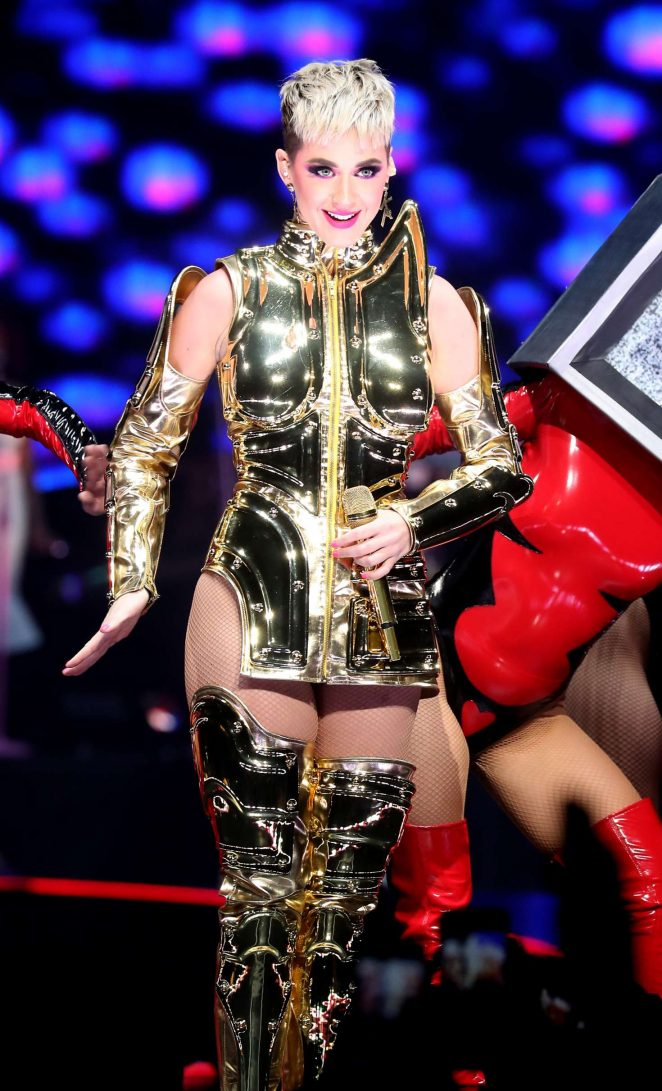 Katy Perry: Performs at Witness: The Tour at T-Mobile Arena -11