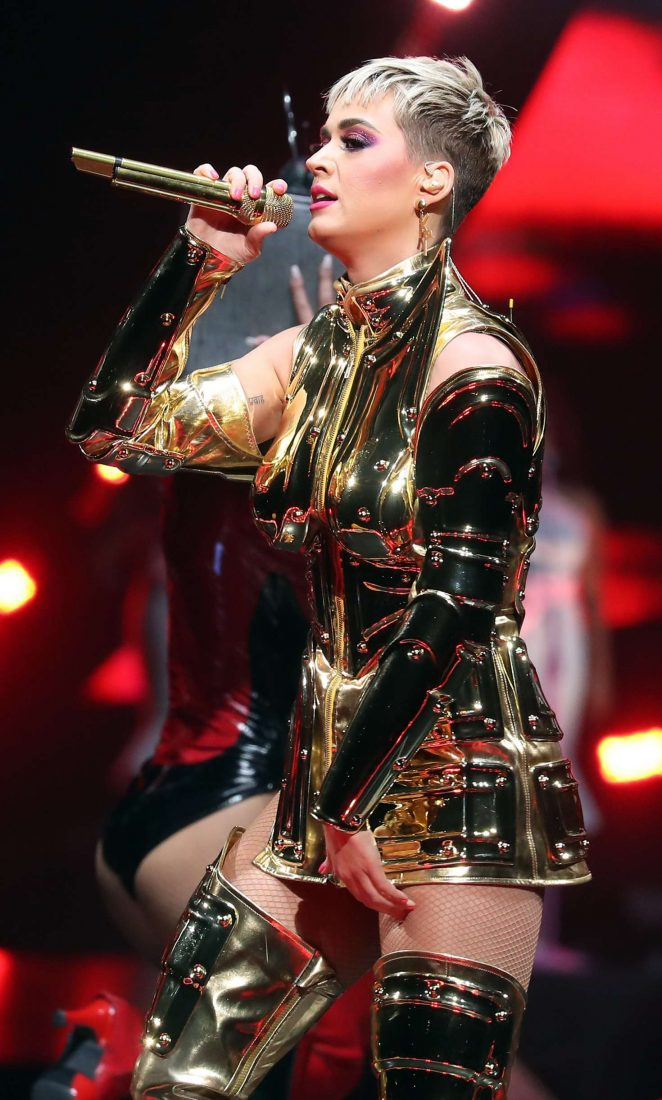Katy Perry: Performs at Witness: The Tour at T-Mobile Arena -12