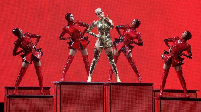 Katy Perry: Performs at Witness: The Tour at T-Mobile Arena -16
