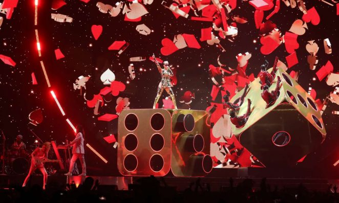 Katy Perry: Performs at Witness: The Tour at T-Mobile Arena -17