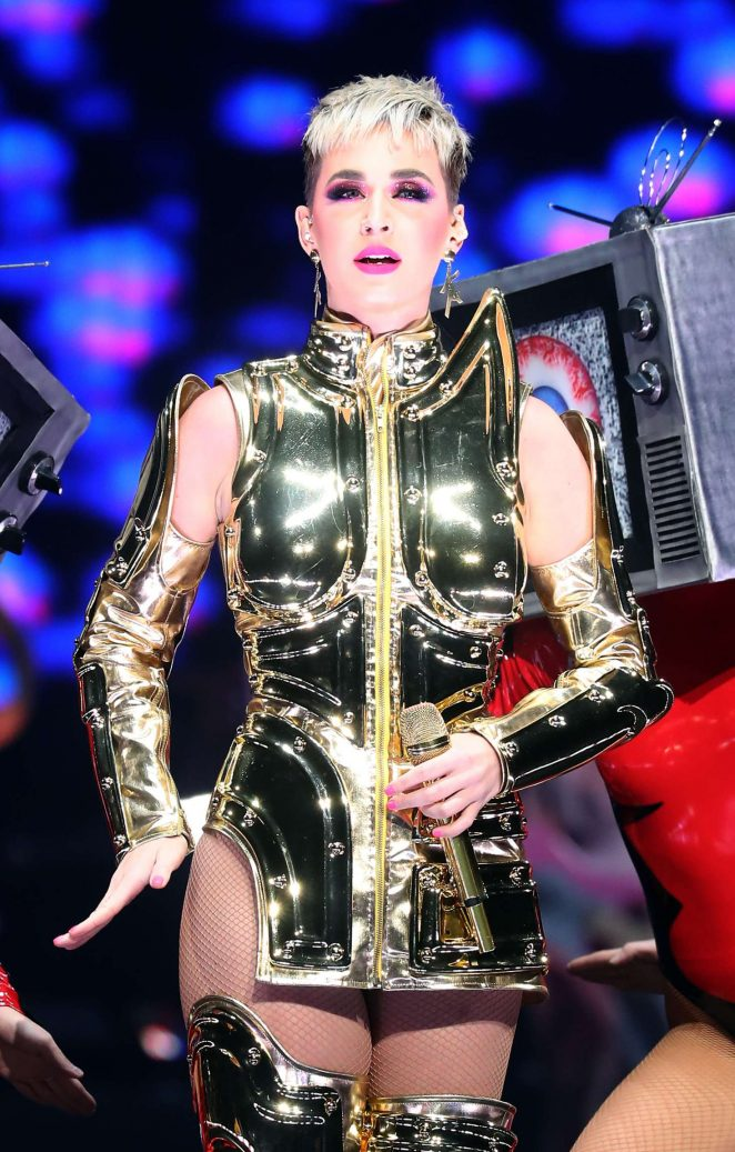 Katy Perry: Performs at Witness: The Tour at T-Mobile Arena -19