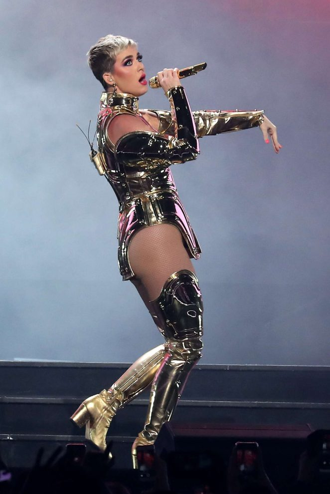 Katy Perry: Performs at Witness: The Tour at T-Mobile Arena -20