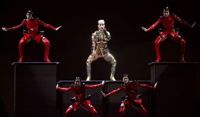 Katy Perry: Performs at Witness: The Tour at T-Mobile Arena -23