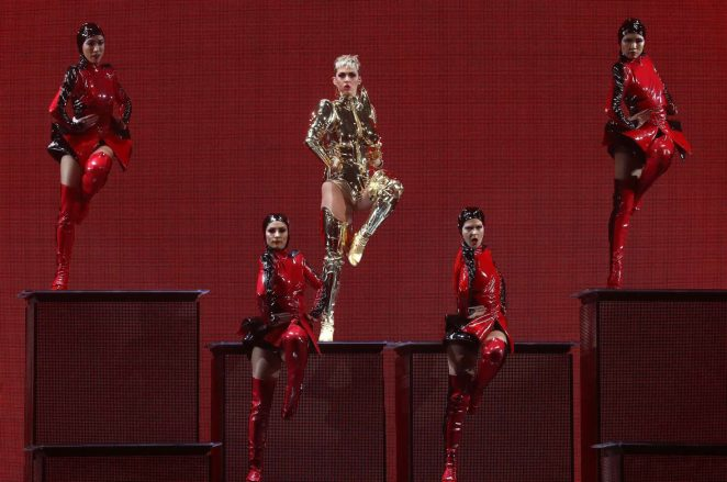 Katy Perry: Performs at Witness: The Tour at T-Mobile Arena -43