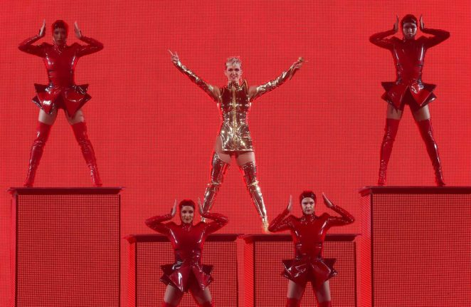 Katy Perry: Performs at Witness: The Tour at T-Mobile Arena -47