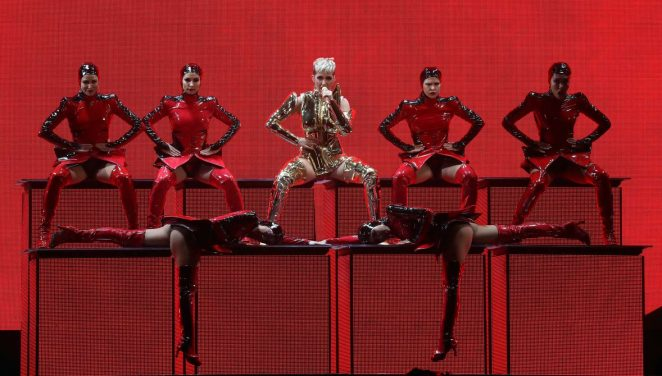 Katy Perry: Performs at Witness: The Tour at T-Mobile Arena -48
