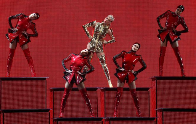 Katy Perry: Performs at Witness: The Tour at T-Mobile Arena -50