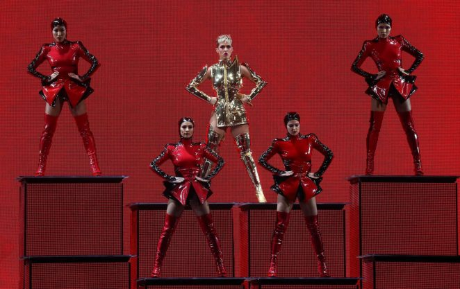 Katy Perry: Performs at Witness: The Tour at T-Mobile Arena -56