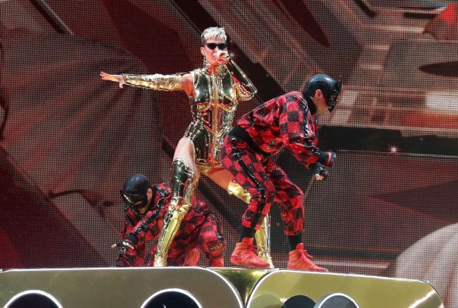 Katy Perry: Performs at Witness: The Tour at T-Mobile Arena -59