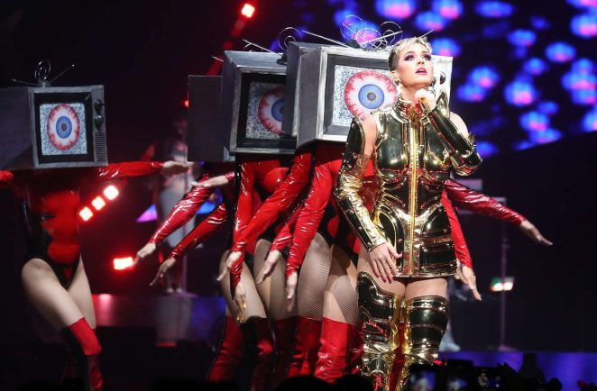 Katy Perry: Performs at Witness: The Tour at T-Mobile Arena -60