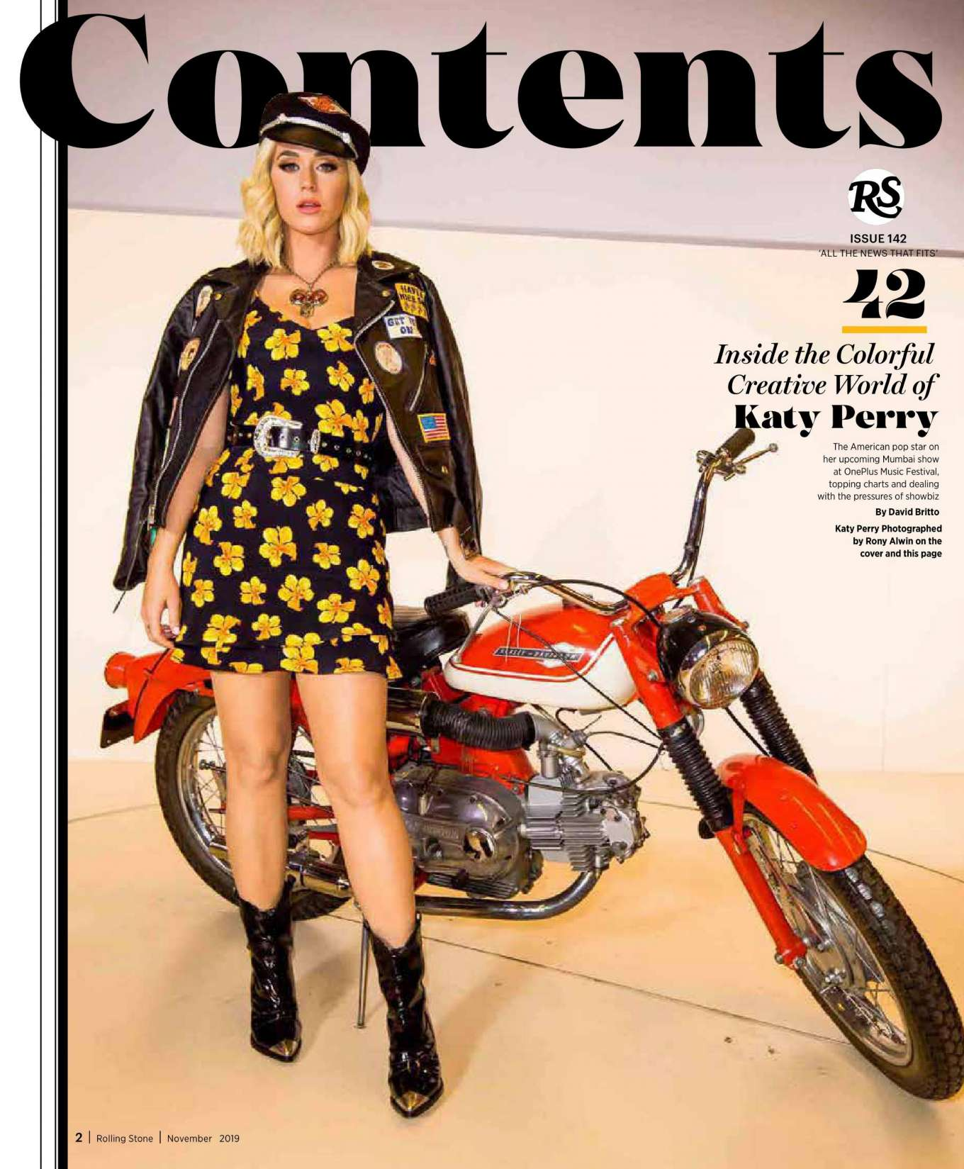 Katy Perry 2019 : Katy Perry – Rolling Stone Magazine (India – November 2019)-02