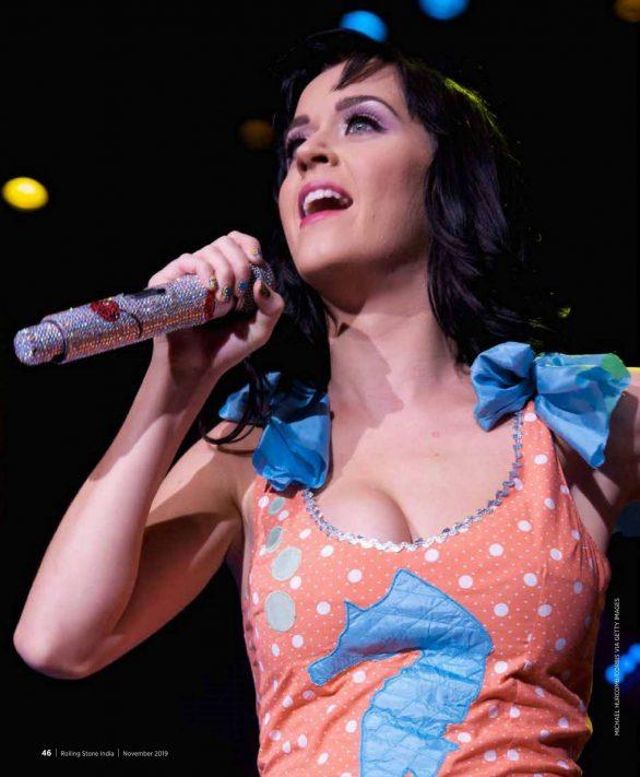 Katy Perry - Rolling Stone Magazine (India - November 2019)