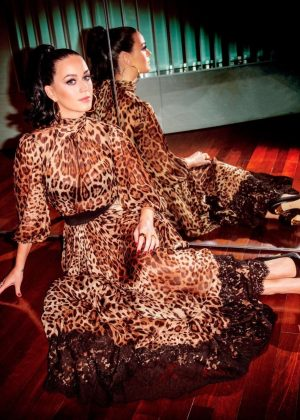 Katy Perry - Rony Alwin Photoshoot for Footwear News 2017