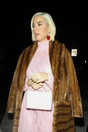 Katy Perry - Seen at Craig's for dinner on Valentine's Day