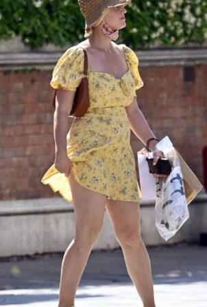 Katy Perry - Seen with fiance Orlando Bloom in Venice