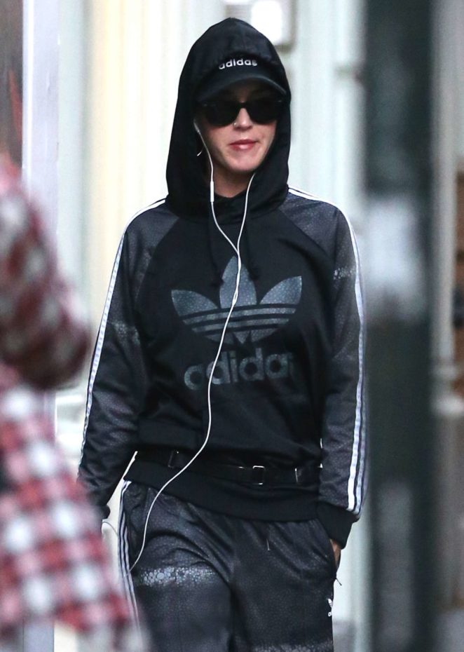 Katy Perry - Shopping at an Adidas Store in New York City