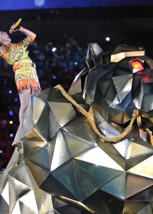 Katy Perry: Superbowl XLIX Halftime Show -36