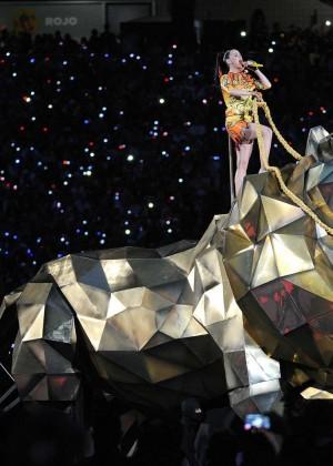 Katy Perry: Superbowl XLIX Halftime Show -44