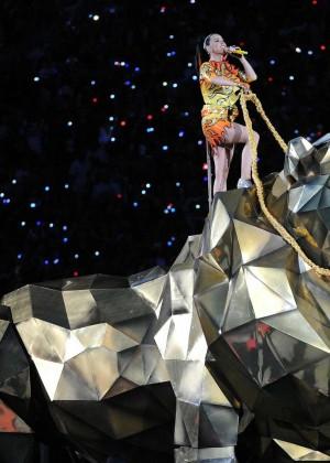 Katy Perry: Superbowl XLIX Halftime Show -76