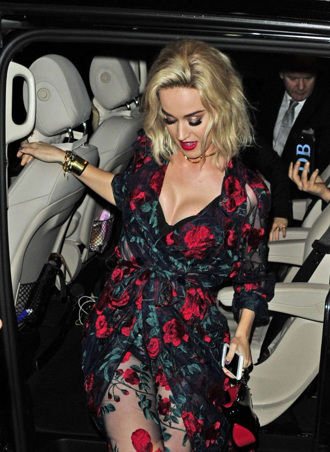 Katy Perry - Universal Music Brit Awards After Party in London