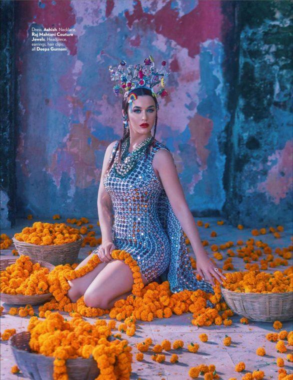 Katy Perry - Vogue India Magazine (January 2020)