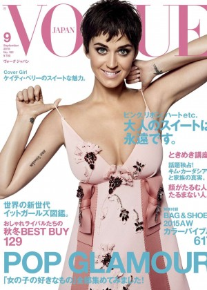 Katy Perry - Vogue Japan Magazine Cover (September 2015)