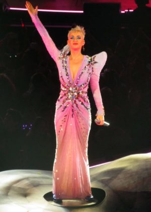 Katy Perry - Wears Pink Fairy Dress at 'Witness: The Tour' in Toronto