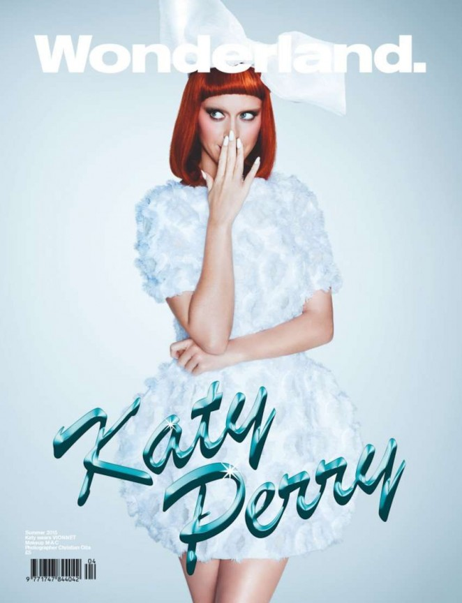 Katy Perry - Wonderland Magazine Cover (Summer 2015)