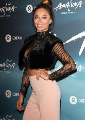 Katya Jones - Cirque du Soleil: Amaluna Press Night in London