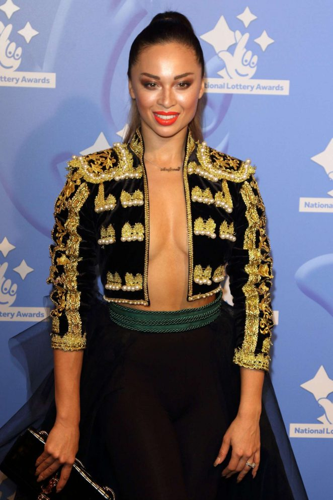 Katya Jones - National Lottery Awards 2016 in London