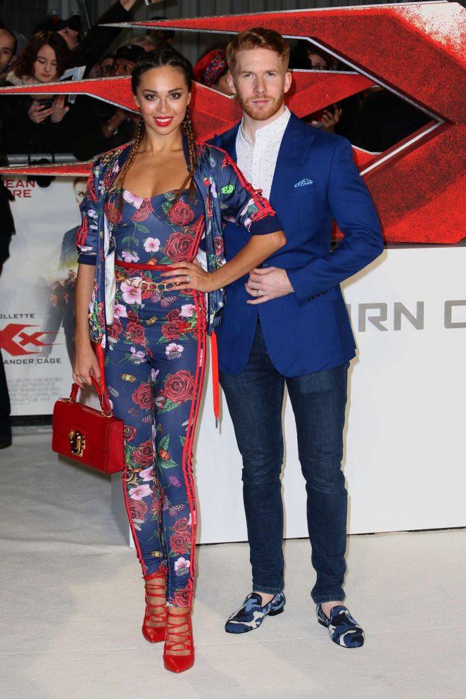 Katya Jones - 'xXx': Return of Xander Cage' Premiere in London