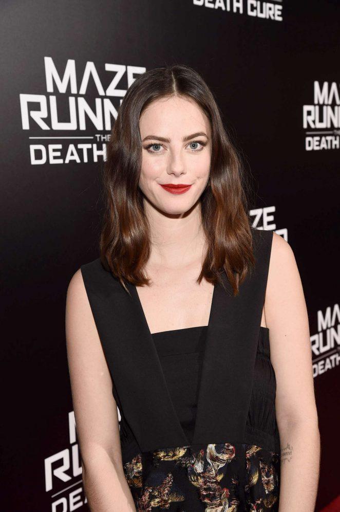 Kaya Scodelario - 'Maze Runner: The Death Cure' Fan Screening in LA