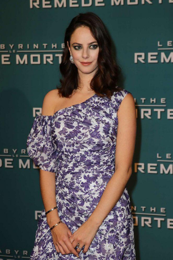 Kaya Scodelario - 'Maze Runner: The Death Cure' Premiere in Paris