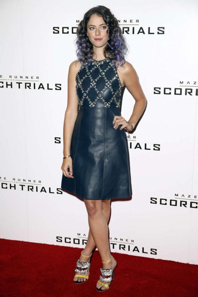 Kaya Scodelario - 'Maze Runner: The Scorch Trials' Fan Event in London