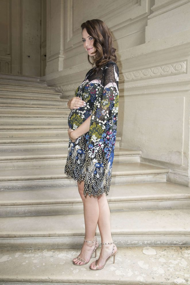 Kaya Scodelario: Valentino Fashion Week Mens Wear SS 2017 ...