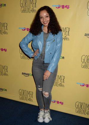 Kayla Maisonet - 'Gortimer Gibbons Life on Normal Street' Premiere in Burbank