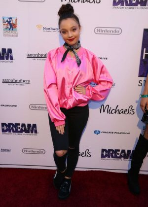 Kayla Maisonet - Starlight's Dream Halloween Party in Los Angeles
