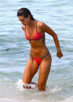 Kaylee Ricciardi in Bikini in Miami