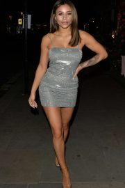 Kayleigh Morris - Arriving at Sumosan Twiga in Knightsbridge