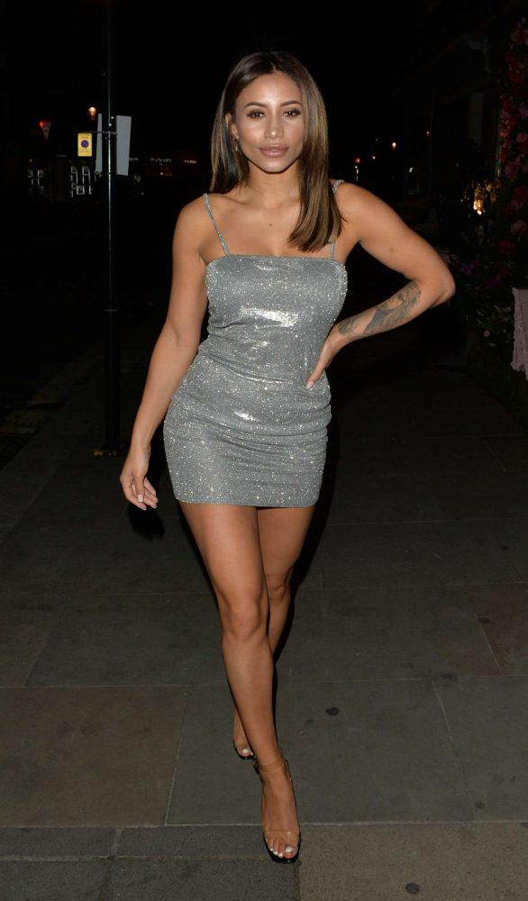 Kayleigh Morris - Arriving at Sumosan Twiga in Knightsbridge