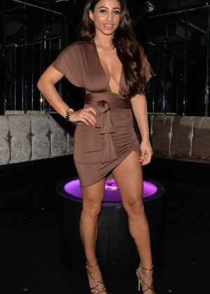 Kayleigh Morris at Shooshh night club in Brighton