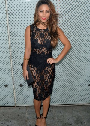 Kayleigh Morris - Jasmin Walia's Clothing Launch Party in London